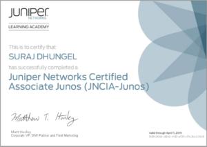 Juniper Networks Certified Associate Junos (JNCIA-Junos) | TMB Learning